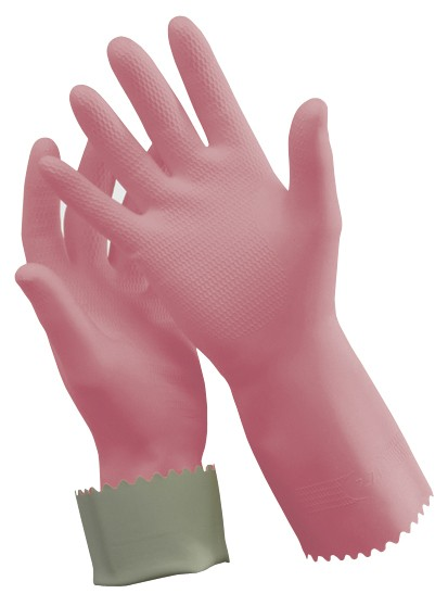 Image of Glove Silverlined Pink