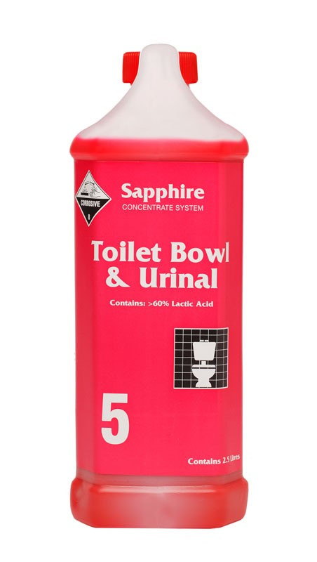 Sapphire #5 Toilet Bowl & Urinal Cleaner 2.5ltr (3)