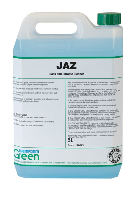 Image of Jaz Glass & Chrome Cleaner 5ltr (2)