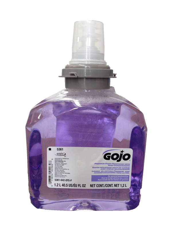 Image of Gojo Foam Hand Wash Cranberry Scent Touch Free 1.2ltr Suits 12606