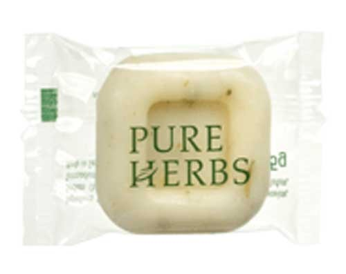 Image of Pure Herbs Vegetable Soap In Soft Bag 15gm (500)