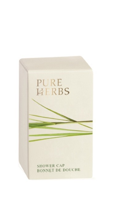 Image of Pure Herbs Shower Cap In Card Pack