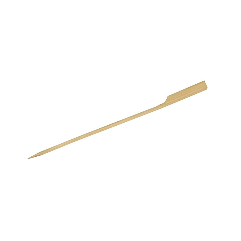 Disposable Bamboo Skewer Paddle Stick 120mm