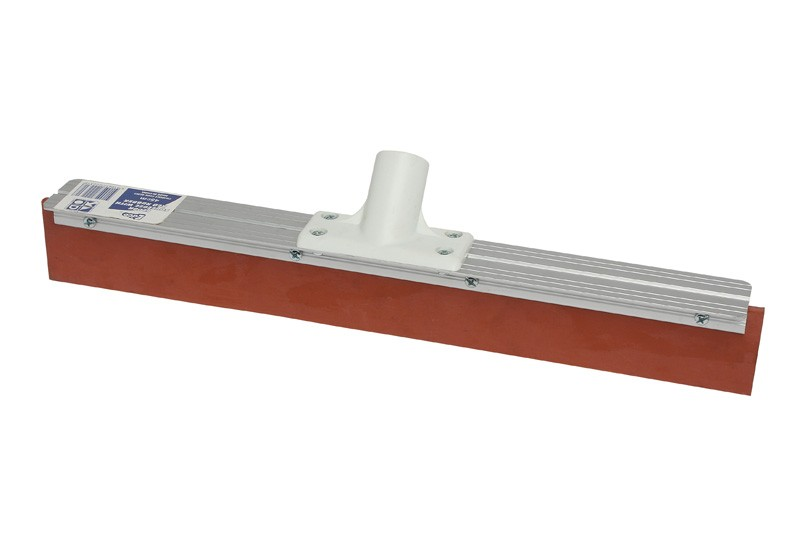 Image of Squeegee Floor Red Rubber Metal Backing 45cm