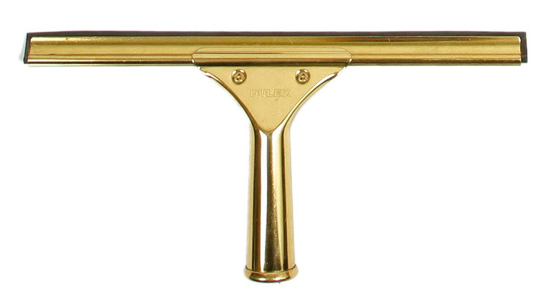 Image of Sabco Squeegee Window Brass Complete W/Handle 35cm