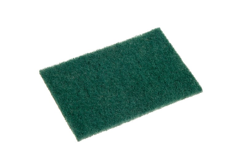 Image of Scourer Nylon Pad Green 150 x 100mm