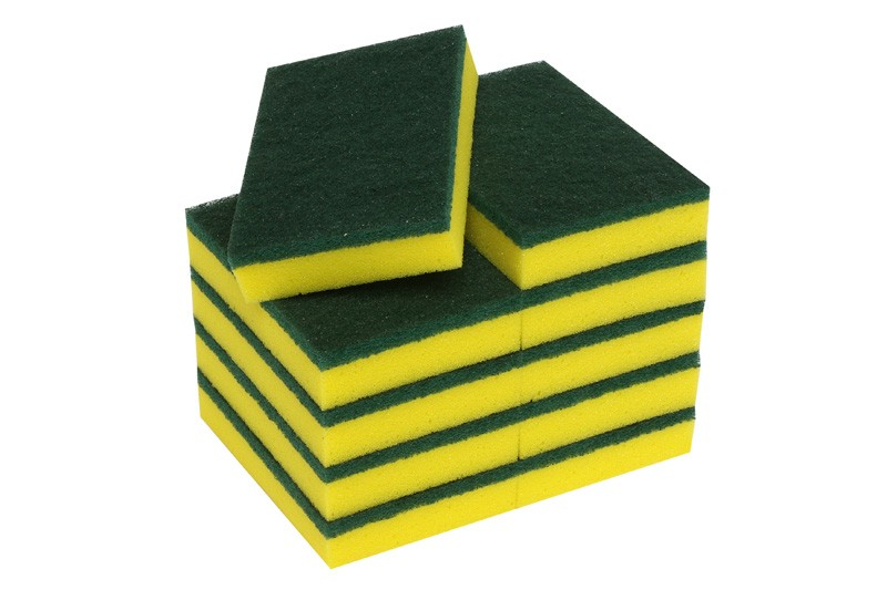 Image of Oates Scourer Sponge Green 150 x 100mm