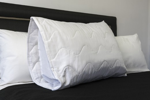 Pillow Protector King Size Quilted 52 X 93cm