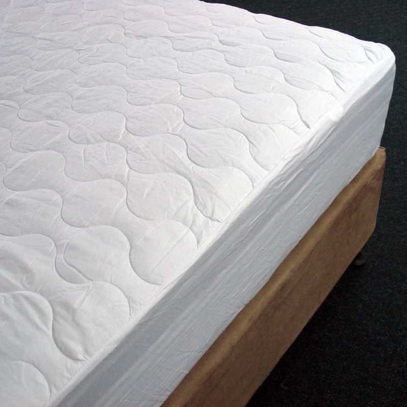 Image of Alliance Mattress Protector Double Cotton Fitted