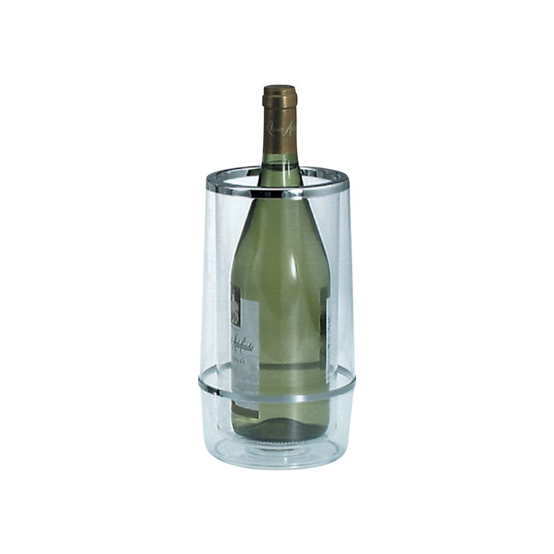 Image of Wine Cooler Acrylic Insulated Clear