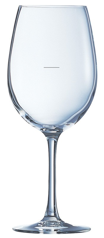 Image of Chef & Sommelier Cabernet Tulip 350Ml With 150Ml Plimsol Line