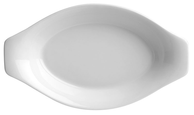 Image of Duraceram Au Gratin Oval Dish 115 x 215mm