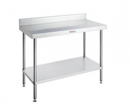Simply Stainless 700 Series Work Bench With Splashback
