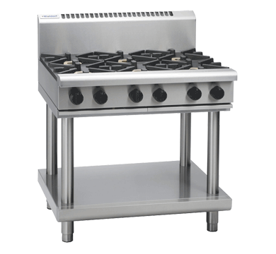 Waldorf 800 Series RN8609G-LS Cooktop & Griddle On Leg Stand *LPG*