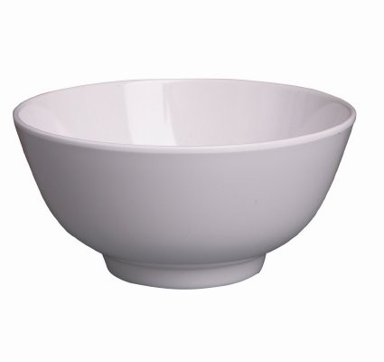 Image of Ryner Melamine Rice/Noodle Bowl White 110mm
