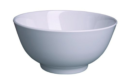 Image of Ryner Melamine Rice/Noodle Bowl White 175mm