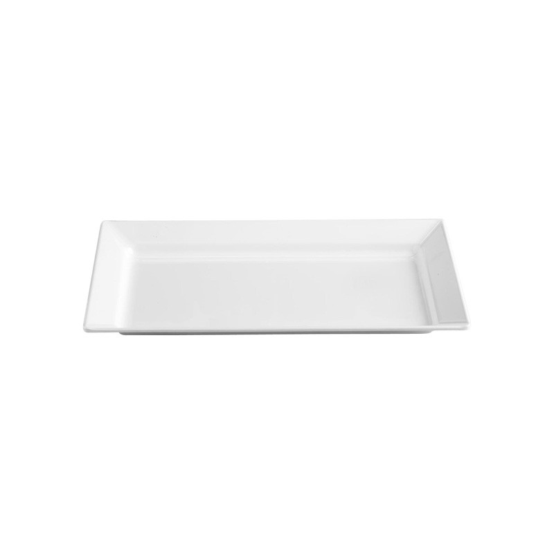 Image of Melamine Rectangular Tray White 270 x 440mm