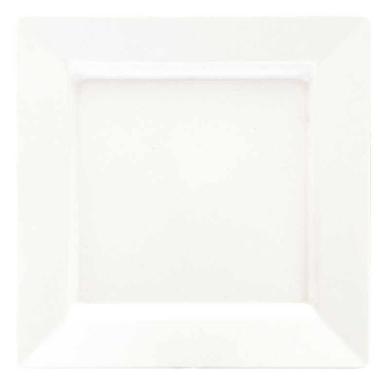 Image of Ryner Melamine Square Platter White 300 x 300mm
