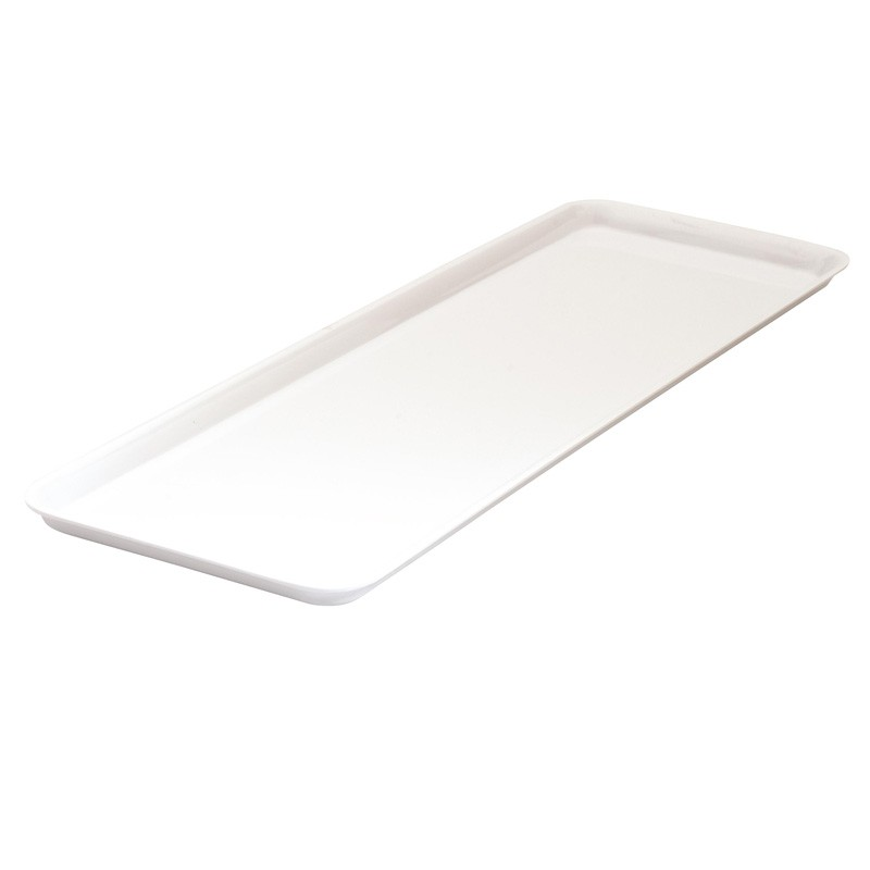 Image of Ryner Melamine Sandwich Plate White 500 x 180mm