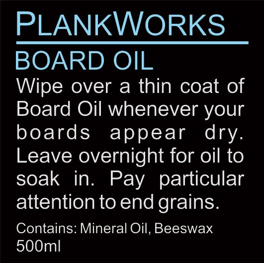 Image of PlankWorks Oil Blend For Acacia Wooden Boards 250ml
