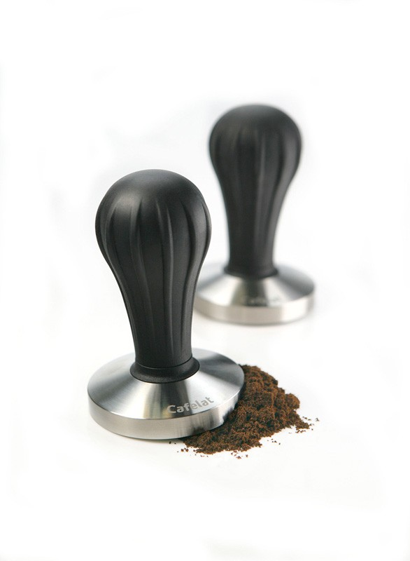 Image of Cafelat Pillar Tampers Black Flat 58mm