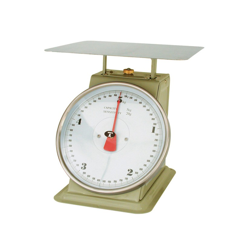 Image of Scale Kitchen Flat Top 5kg 20gm Graduations