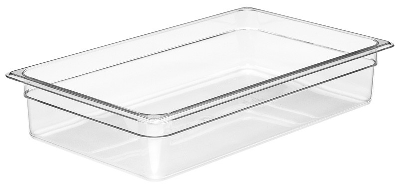 Image of Cambro Food Pan Clear 1/1 Size