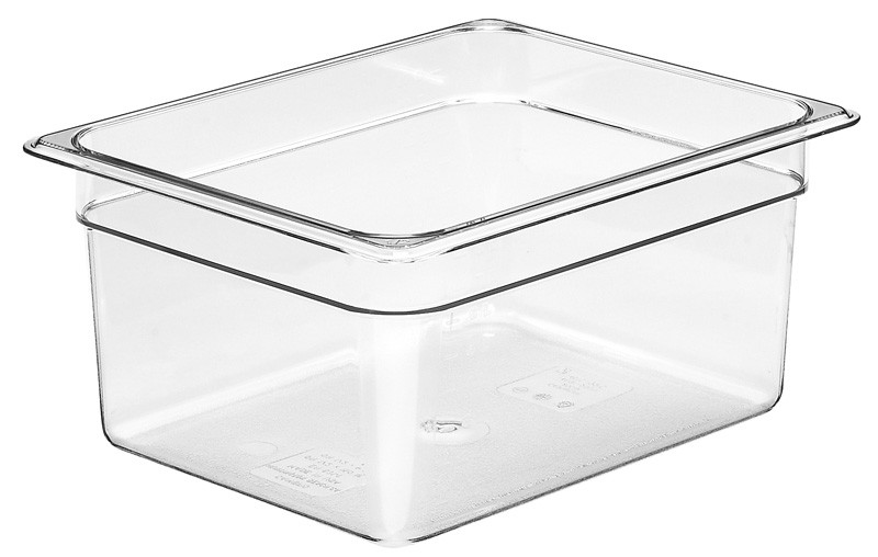 Image of Cambro Food Pan Clear 1/2 Size 150mm (6)