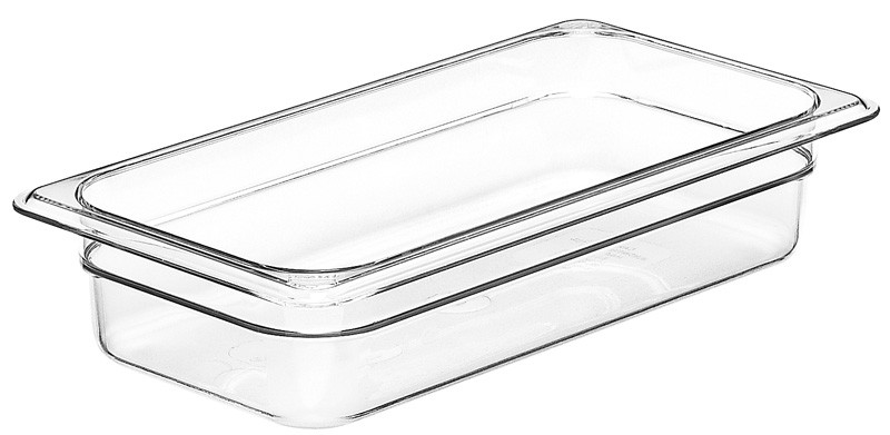 Image of Cambro Food Pan Clear 1/3 Size 65mm (6)