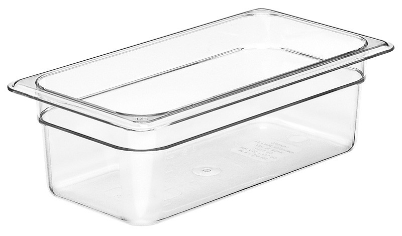 Image of Cambro Food Pan Clear 1/3 Size 100mm (6)