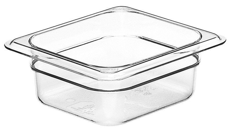 Image of Cambro Food Pan Clear 1/6 Size 65Mm