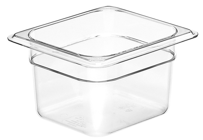 Image of Cambro Food Pan Clear 1/6 Size