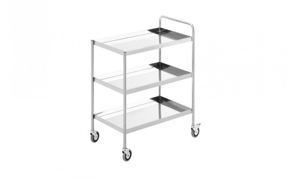 Simply Stainless Three Tier Trolley