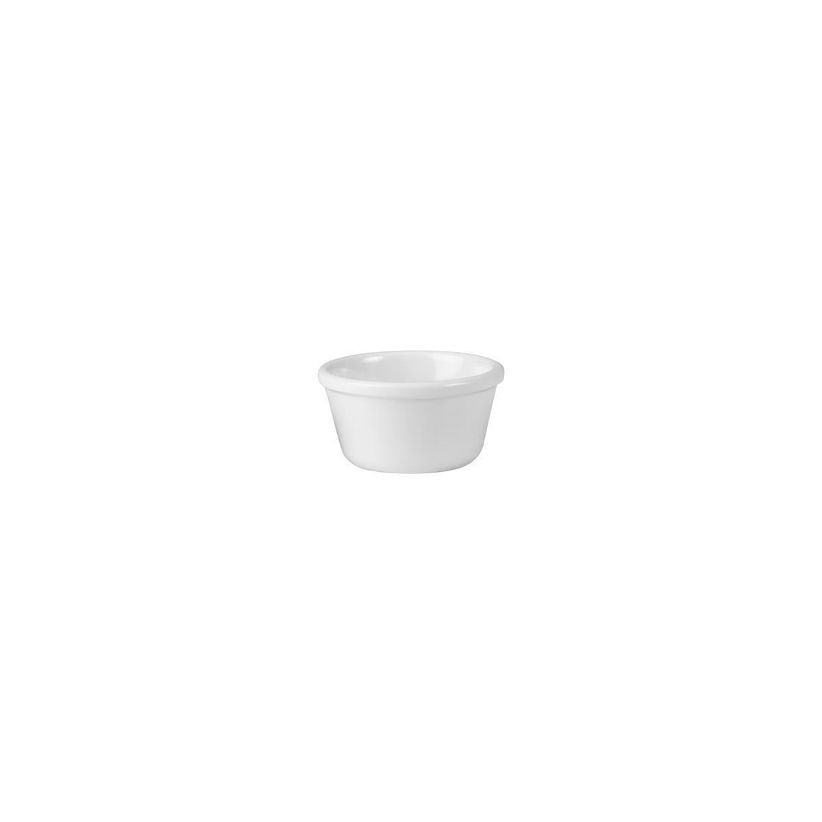 Ryner Melamine Rameken White 120ml - 85mm Dia. x 50mmH White