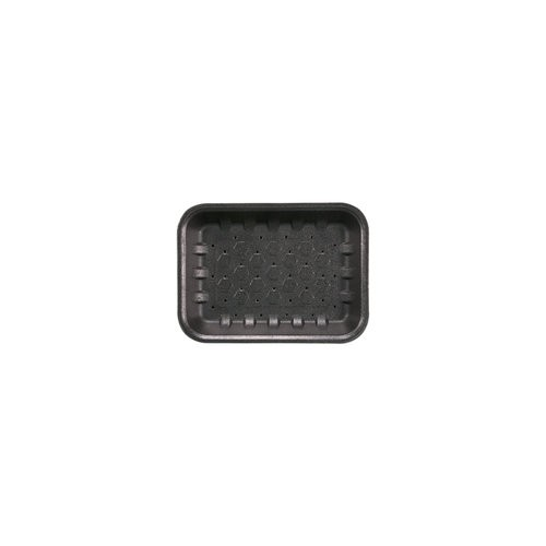Food Tray Open Cell Black 7 x 5