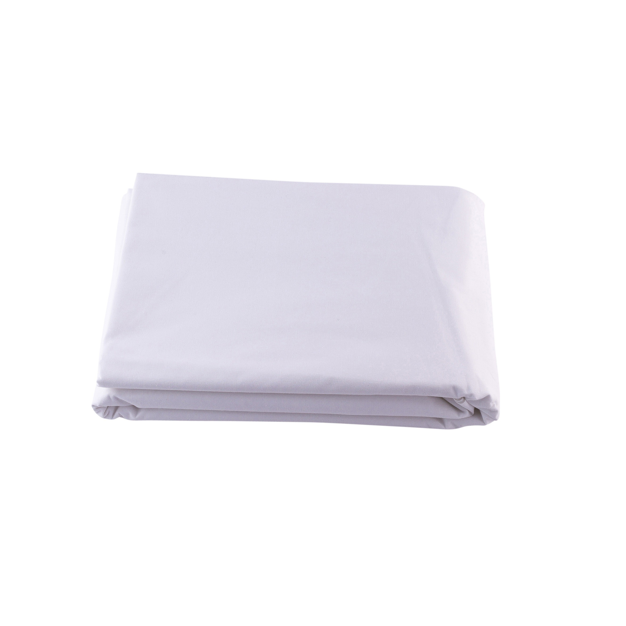 Superwash Fitted Single Sheet White