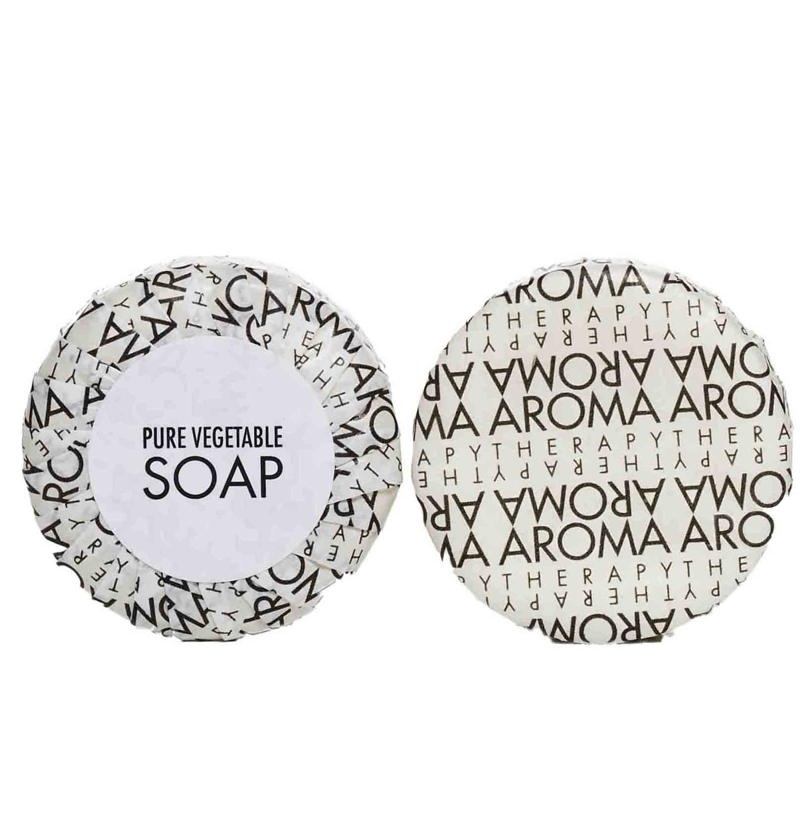 Aroma Therapy Wheat Soap In Pleated Paper 40gm