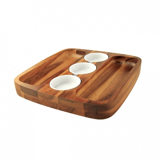 Athena Wooden Dipping Set 300 x 300mm