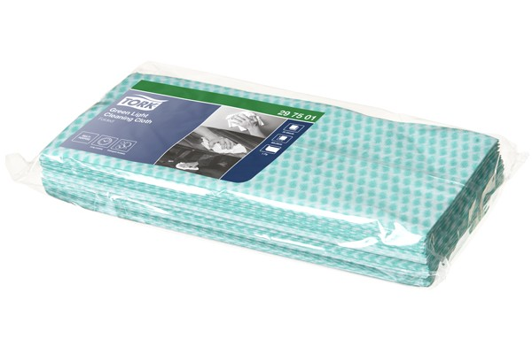 Image of Tork Premium Cloth Green(Food Prep Areas)