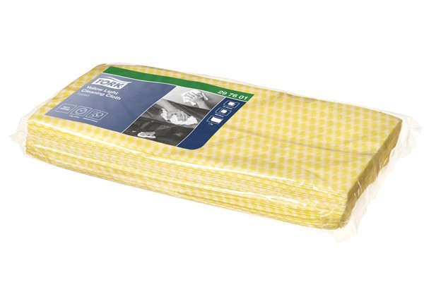 Image of Tork Premium Cloth Yellow(Infectious Areas)