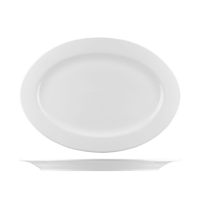 Bistro Oval Plate