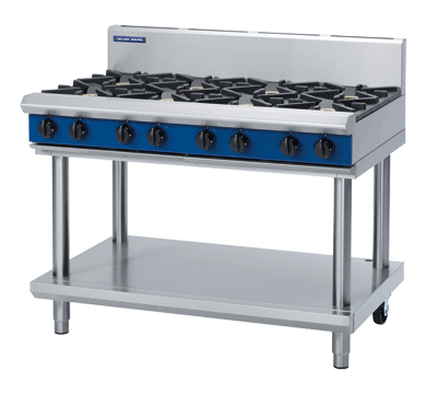 Image of Blue Seal G518D-LS Cooktop 8 Burner With Leg Stand *Nat Gas*