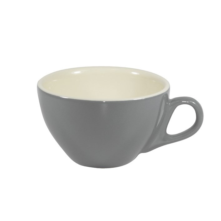 BREW CAPPUCINO CUP FRENCH GREY/WHITE 220ML