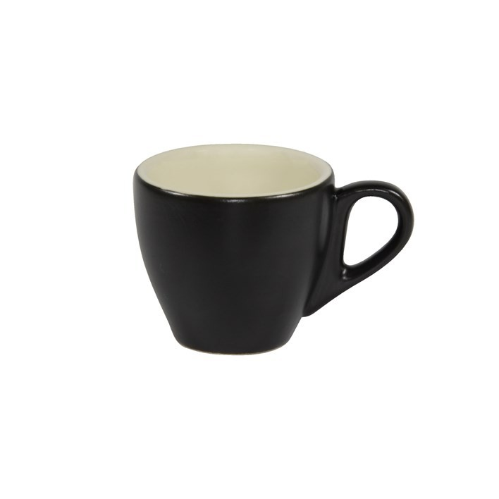 Brew Espresso Cup 90ml Smoke/White 6/Pkt (6)