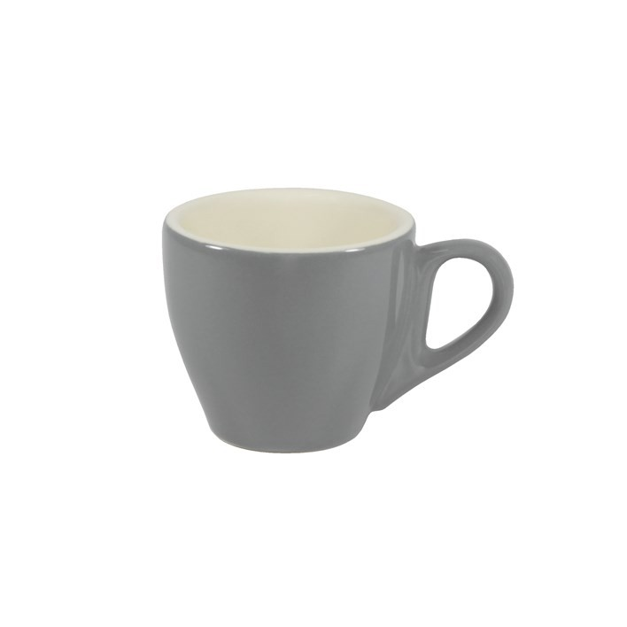 BREW ESPRESSO CUP FRENCH GREY/WHITE 90ML