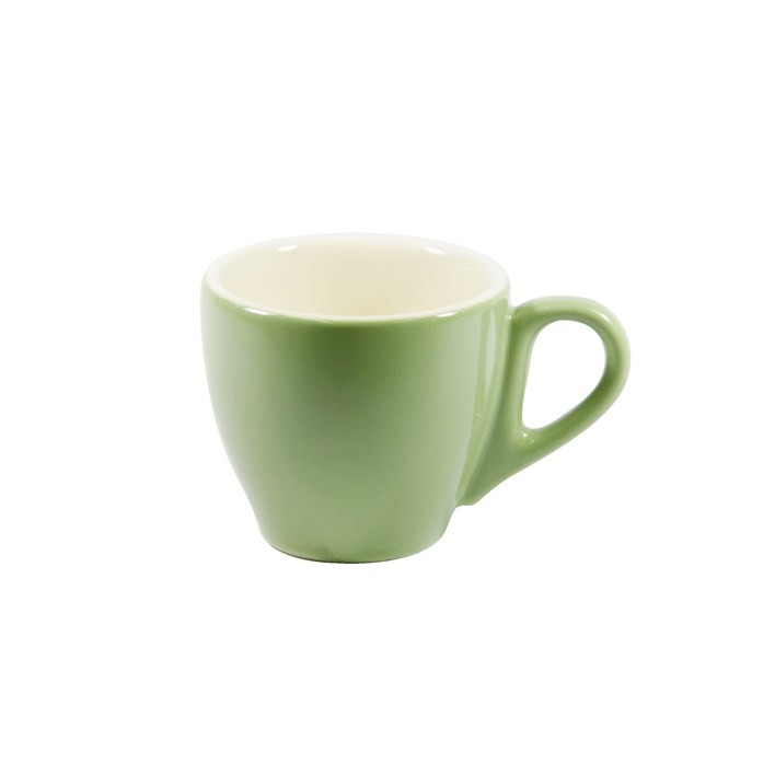 BREW ESPRESSO CUP SAGE/WHITE 90ML
