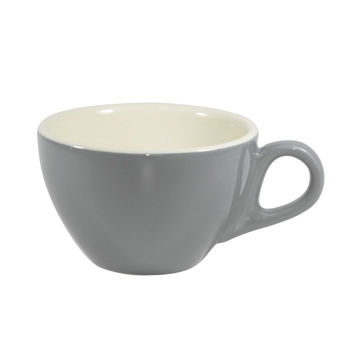 BREW LATTE CUP FRENCH GREY/WHITE 280ML