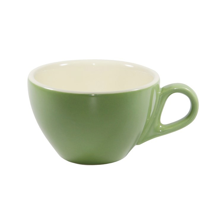 BREW LATTE CUP SAGE/WHITE 280ML