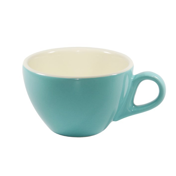 BREW LATTE CUP TEAL/WHITE 280ML