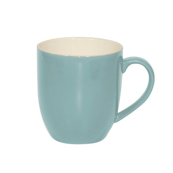 BREW MUG MAYA BLUE/WHITE 380ML